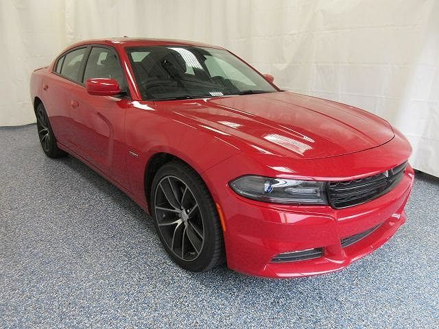 2C3CDXCT2FH871099   2015 Dodge Charger R/T for sale in Fowlerville, MI, $25,999, 17,105 sunroof, near Lansing