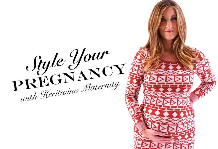 Cute and affordable maternity clothes from Heritwine Maternity.