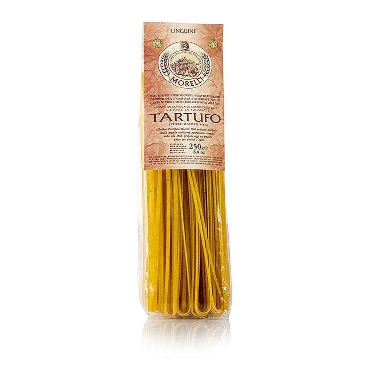 Morelli Linguine 1860, s letním lanýžem a pšeničných klíčků, 250g
