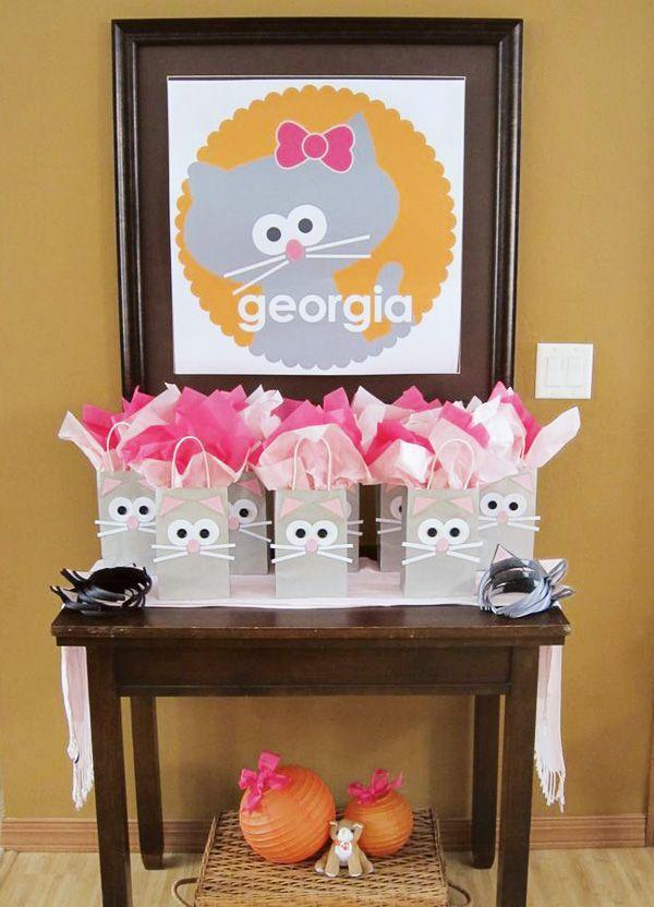 Cute Kitty Cat Party {Girl's Birthday