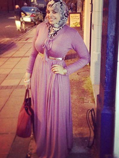 Curvy (Plus Size) Hijab Styles