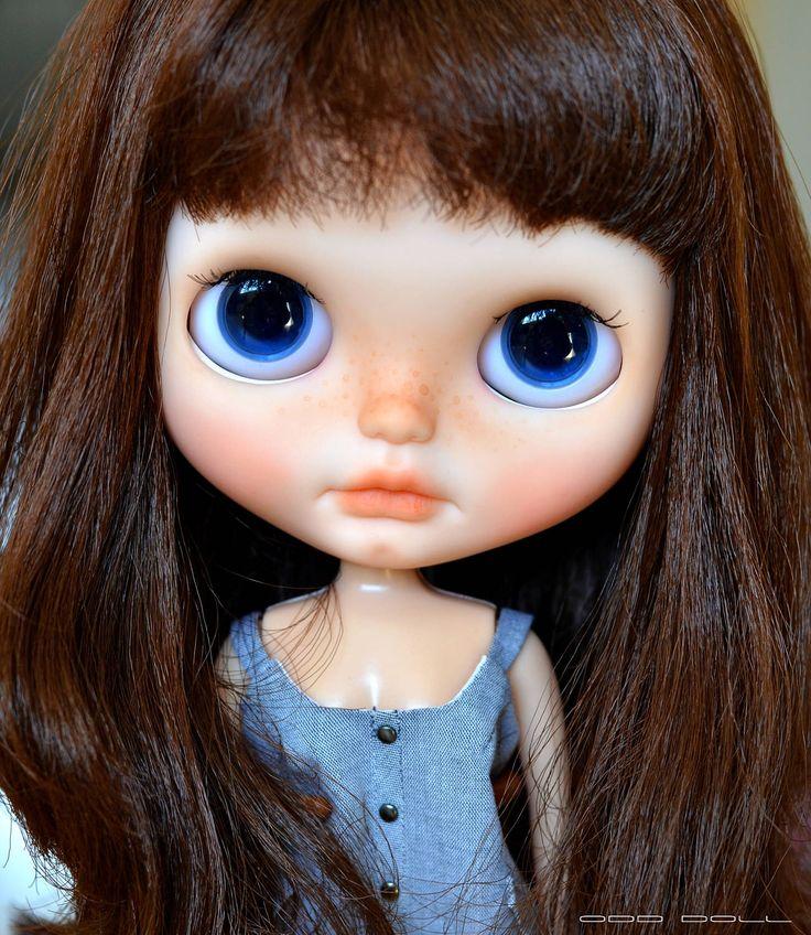 OOAK Custom Blythe Doll by Odd Doll (original Petit Dejeuner Champs Elysees Takara Blythe) by OddDollShop on Etsy https://www.etsy.com/listing/508955738/ooak-custom-blythe-doll-by-odd-doll