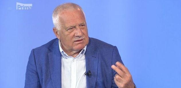 Václav Klaus hodinu řádil v Partii: A vůbec největší hrozbou pro nás je....
