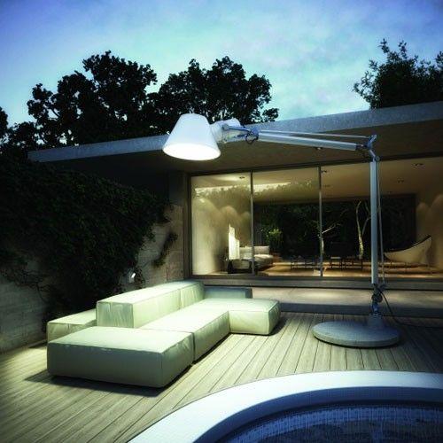 148 best artemide images on pinterest exterior lighting light artemide lighting tolomeo xxl outdoor floor lamp workwithnaturefo