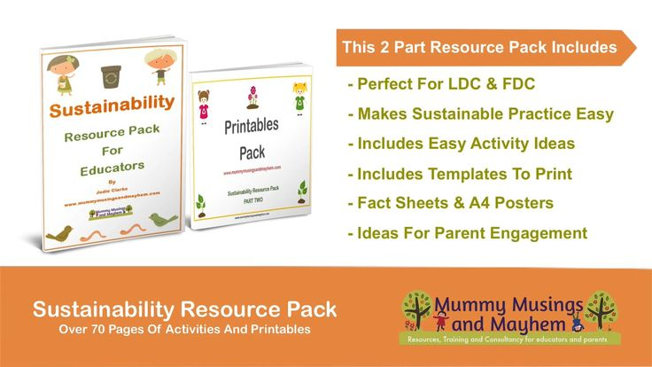 Sustainability Resource E-Book Pack for Educators & Teachers