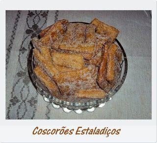 Iguarias de Açúcar e Sal: Coscorões Estaladiços