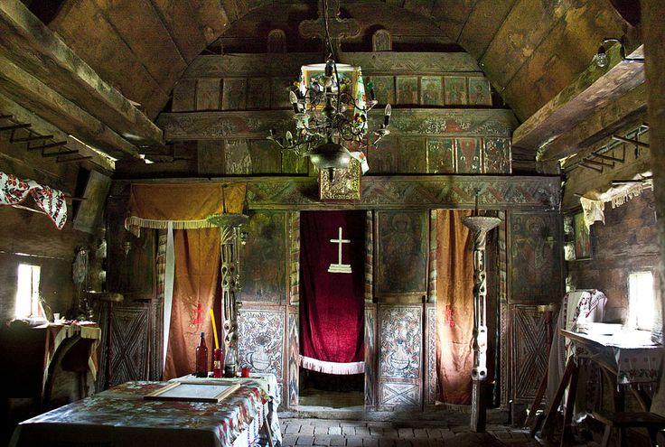 Olteanca Chituci VL.bis lemn.iconostas - Biserica de lemn din Olteanca-Chituci…