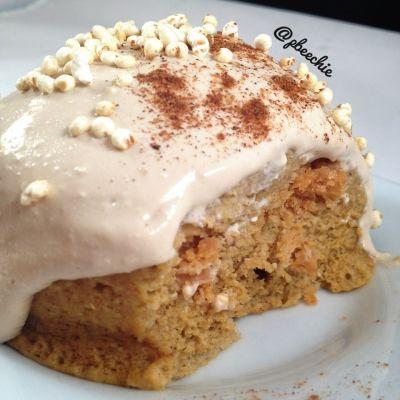 Ripped Recipes - Pumpkin Spice Cinnamon Roll Swirl Mugcake - Pumpkin everything this time of year!
