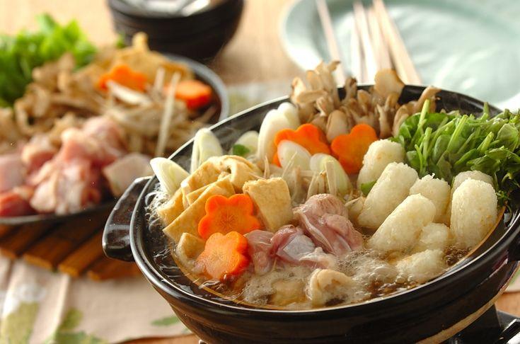 秋田の郷土料理きりたんぽの作り方寒い日は鍋であったまろう