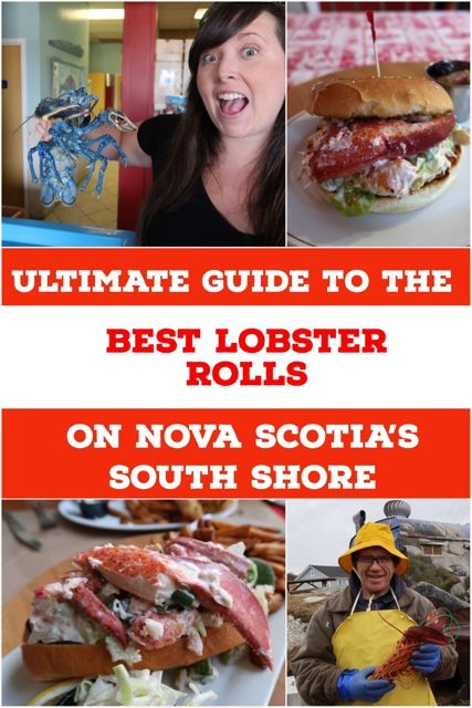 Nova Scotia, Canada is home to some of the best lobster in the world. Here are the top 5 best lobster rolls from Nova Scotia's South Shore.
