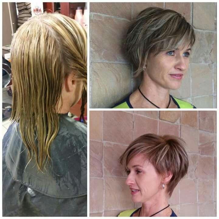 hair cut by Taryn
