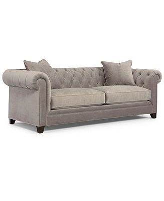 Seriously thinking I will buy this.     Martha Stewart Collection Sofa, Saybridge - furniture - Macy's
