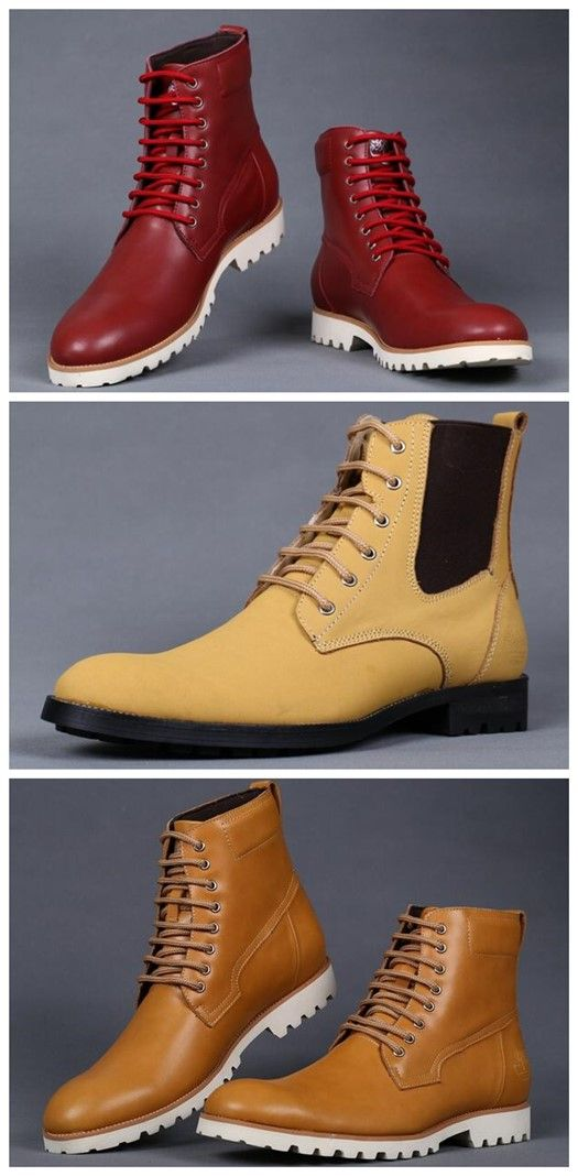 Timberland Men's Earthkeepers Heritage Rugged Zip Boots - Wheat&Boots - Red,Fashion Timberland Boots,Timberland Boots Outfit,New Timberland Boots 2016