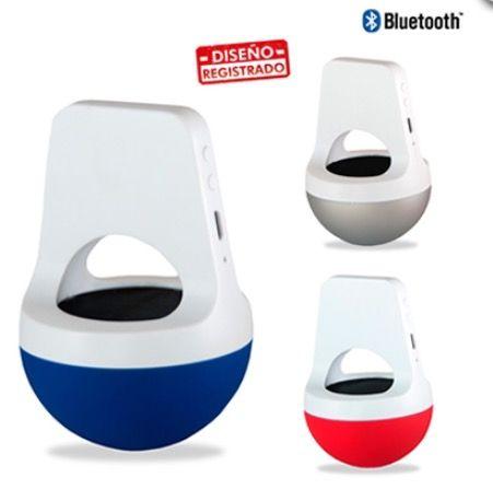 Parlante Bluetooth Plástico de 3 Vatios. Tipo de Producto: IMPORTADO.  Medidas: 9.5 cm x 6 cm. Área de Marca: 2.5 cm x 2 cm. Técnica de Marca: Tampografía Colores Disponibles: Blanco/Azul, Blanco/Rojo y Blanco/Silver.  Estado del producto:  Cantidad Mínima de Pedido:5