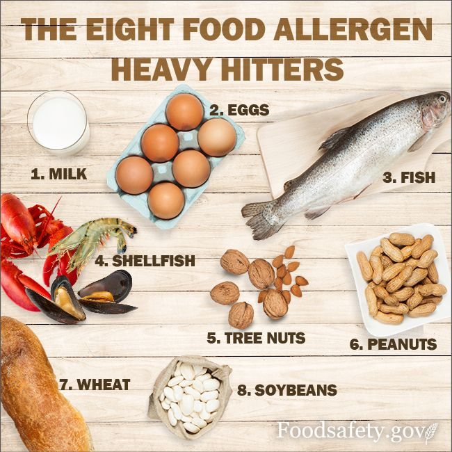 May is Food Allergy Action Month! What are the symptoms of a food allergy? The most common symptoms are: •Hives, itching, or skin rash •Swelling of the lips, face, tongue and throat, or other parts of the body •Wheezing, nasal congestion, or trouble breathing •Abdominal pain, diarrhea, nausea, or vomiting •Dizziness, lightheadedness, or fainting
