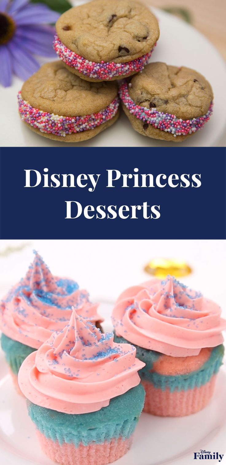 Treat guests to an enchanted collection of desserts at your next Disney Princess Party. These cupcake and cookie recipes are the most magical of sweets.