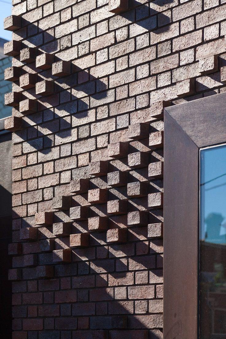 Bricks with a pattern