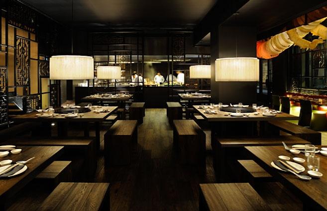 Restaurante la Xina, restaurante chino de moda en las ramblas de Barcelona. Cocina oriental en el centro de Barcelona