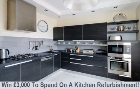 Win A Free Kitchen Refurbishment Worth £3,000