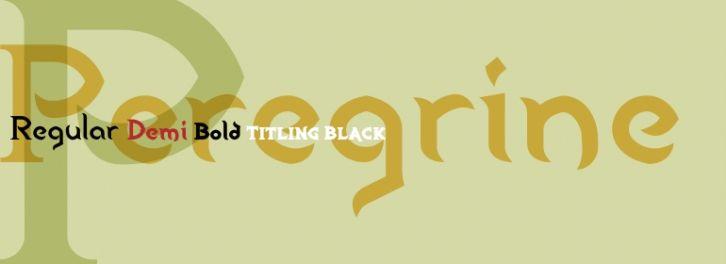 Peregrine font download