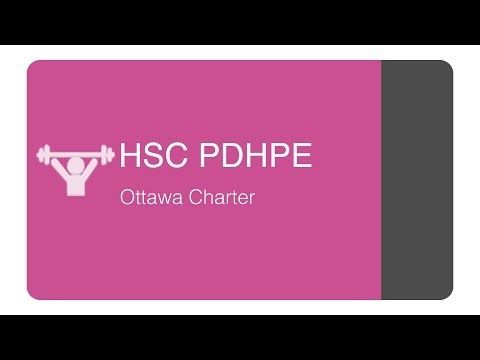 HSC PDHPE - Core 1 Ottawa Charter - YouTube