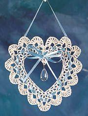 ~ Victorian Heart Suncatcher ~