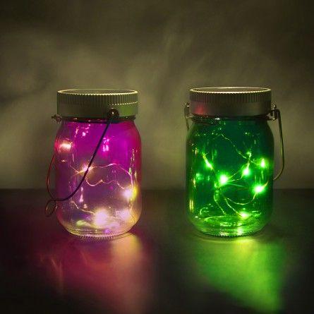 Lifestyle & wonen - Set van 2 Fairy Jars - Magische inmaakpotten.
