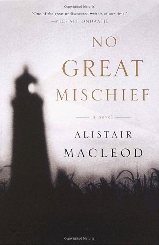No Great Mischief: A Novel by Alistair MacLeod. I read this in high school, I thought it was powerful and moving.