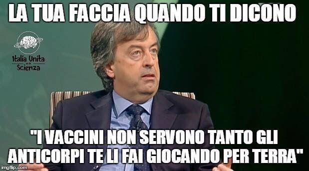 Grazie a Italia Unita per la Scienza per questo meme.. Le nostre facce in quel momento erano messe anche peggio   Qui il meme: https://www.facebook.com/IUXLS/posts/1018915844857904:0  Qui il post: https://www.facebook.com/iovaccino/posts/1200717919951944:0