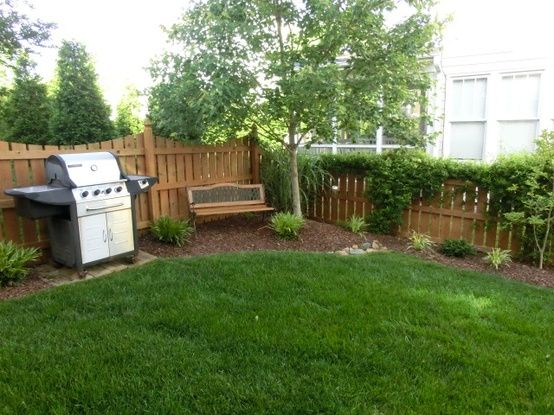 178 best small yard inspiration images on pinterest for Ideas for backyard landscaping for small backyards