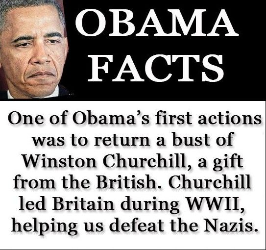 Just one more reason to believe this man does not UNDERSTAND nor APPRECIATE AMERICA!    OBAMA's mentor, the Communist, Frank Marshall Davis, absolutely DEMONIZES Churchill in his writings.         Is THAT why OBAMA seems to HATE one of our GREATEST ALLIES????      Davis might well be the REAL father of Obama.