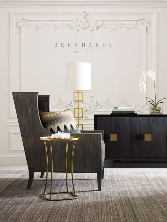 Bernhardt Huntington Dining Room Setting With Images Rustic