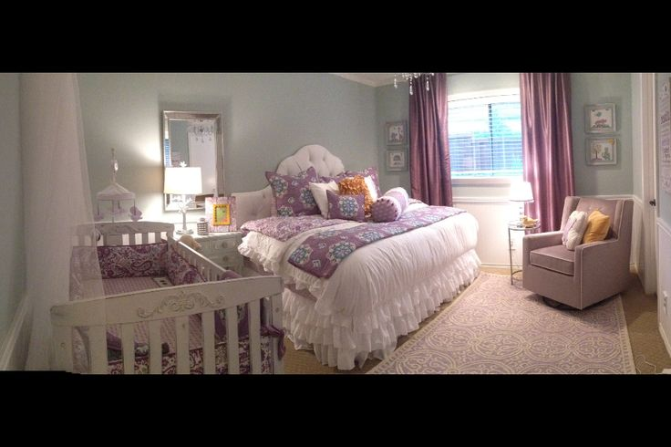 Nursery/guest room Pottery barn brooklyn bedding                                                                                                                                                     More