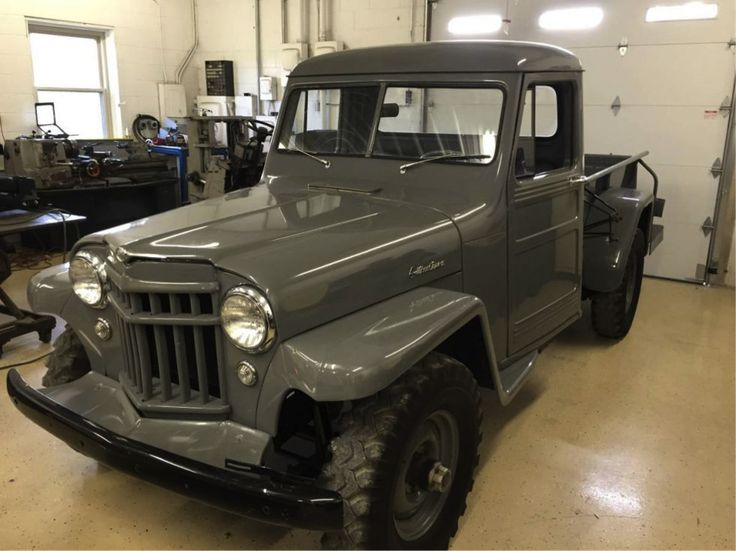 Original 1956 Willys Jeep Pickup