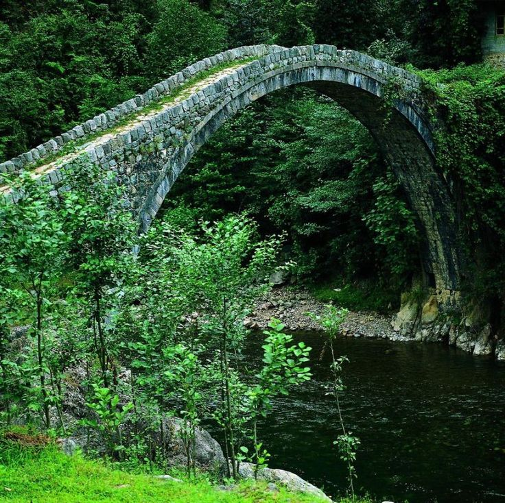 Kemer bridge, Turkey