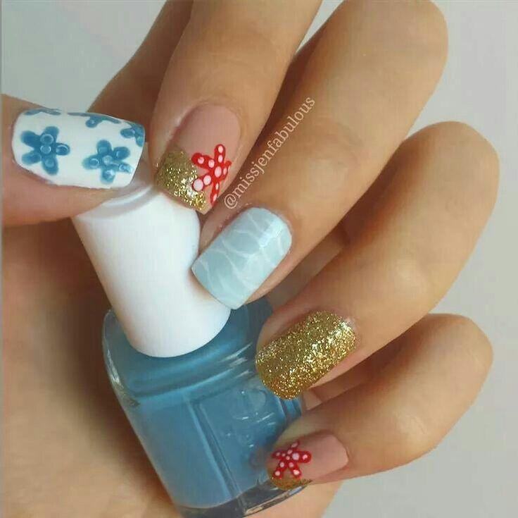 771 mejores imágenes de Nails en Pinterest | Uñas bonitas, Uña ...