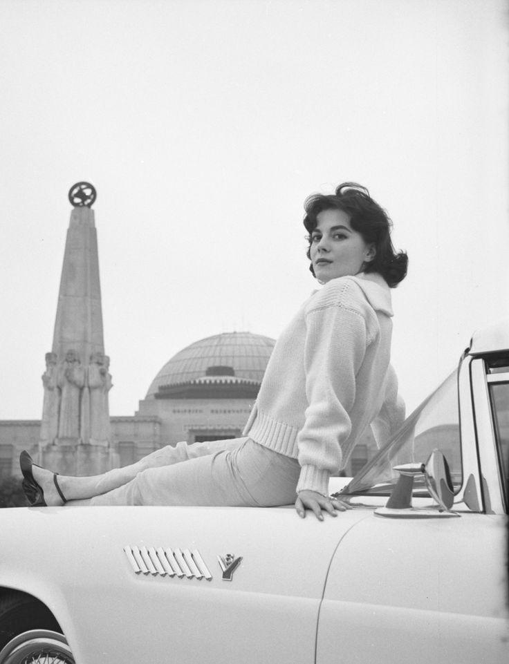Natalie Wood, 1957 Photo: Charlotte Brooks; Library of Congress
