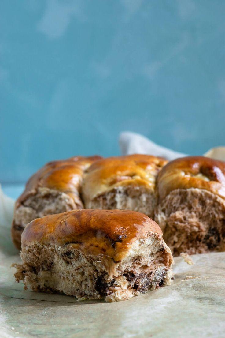 Fluffy Chocolate Rolls (auch mit Rezept für den Thermomix)   – Goldener Blogger-Herbst