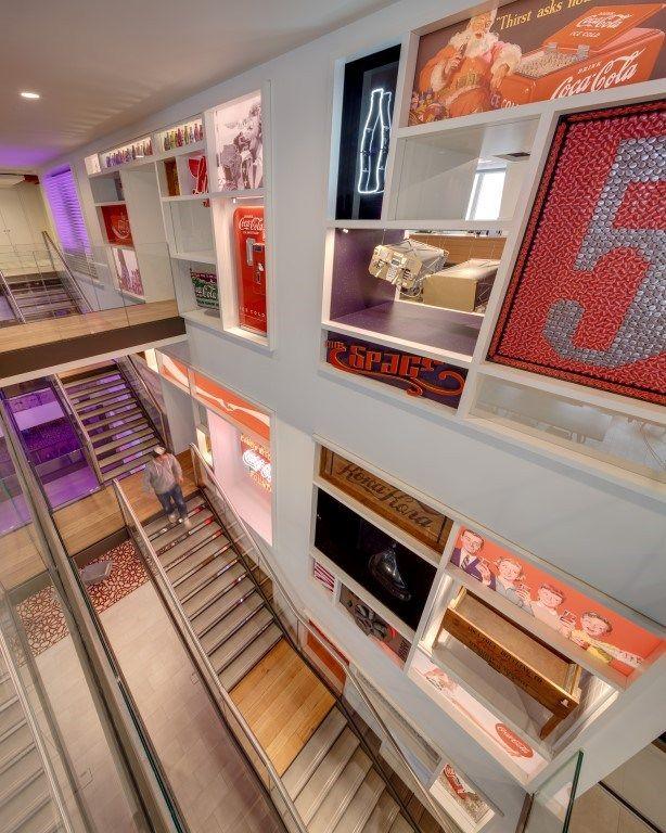 Visite du siège social de Coca-Cola à Londres