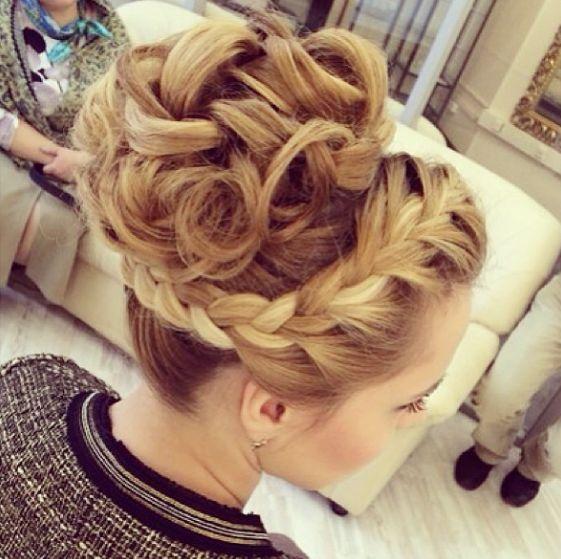Fashionable Wedding Hairstyles.updo