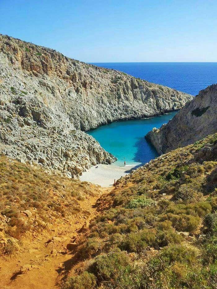 Seitan beach, Chania, Creta