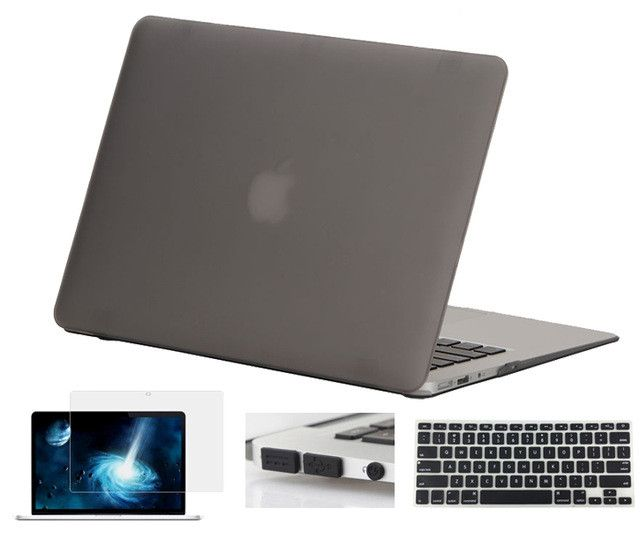 Crystal Clear/Matte Rubberized Hard Case Cover for Macbook Pro 13.3 15.4 Pro Retina 12 13 15 inch Macbook Air 11 13 Laptop Shell