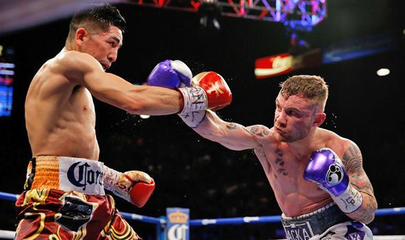 Carl Frampton suffers WBA featherweight title defeat to Leo Santa Cruz