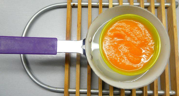 Bébiételek melegítése: Felejtsd el a mikrót!