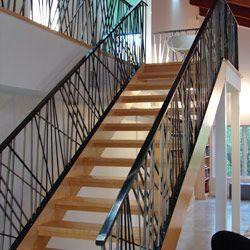 Elegant Iron Studios   Custom Ornamental Metalwork   Modern Railing And  Stairs   Stainless Steel And