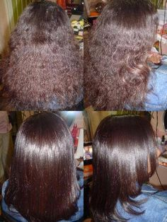 Alisamento Natural com Açúcar. Natural Hair Straightening with Sugar