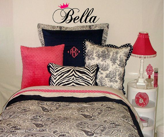 Bella Italian Girls Wall Decal on Etsy, $12.99