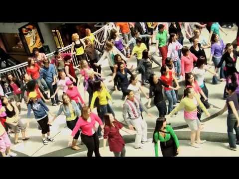 International Dance Day Flash Mob at the Toronto Eaton Centre (Official Video)