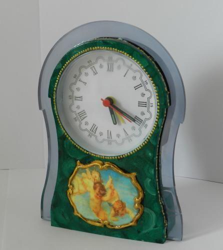 Антикварные часы «Ангельская рапсодия» или как преобразить китайский будильник. Обсуждение на LiveInternet - Российский Сервис Онлайн-Дневников