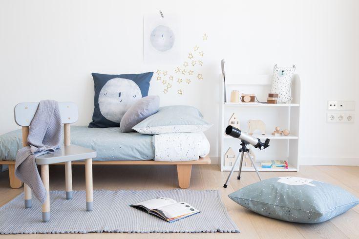 Ropa de cama infantil. Diseñada y fabricada en España. Design rooms for kids. Kids Room Inspiration #duvetcover #fundanordica #kidsroom
